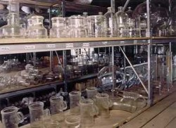 material de vidrio